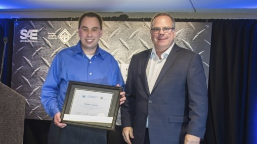 Volvo's Lanahan Named SAE/AEM Outstanding Young Engineer Award