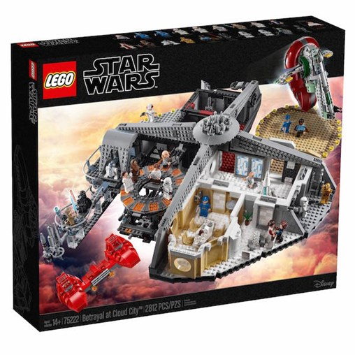 LEGO Star Wars Betrayal at Cloud City Set Available for LEGO Shop VIP Members