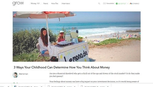 Financial Therapy: How Your Childhood Impacts Your Views on Money