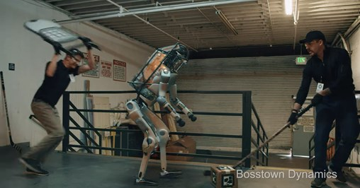 That Video of a Robot Getting Beaten Is Fake, but Feeling Sorry for Machines Is No Joke