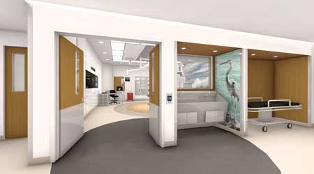 hospital room experiential design