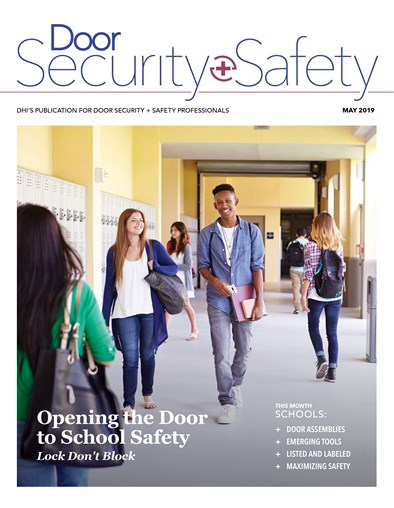 School Security Issue of Door Security + Safety Available to All