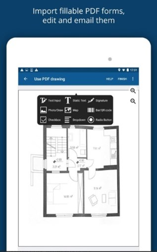 Annotate and Share Construction Drawings With Snappii Construction Plans App