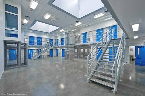 TGP and LTI Provide Superior Fire-rated Glass and Security Solution for Detention Centers