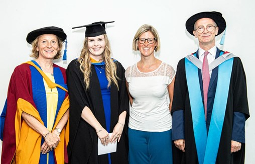 Leeds Beckett's Events Management Student of the Year Honoured