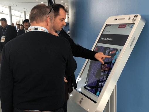 Case study: Giant iTab at MWC Barcelona