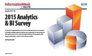 5 Analytics, BI, Data Management Trends For 2015
