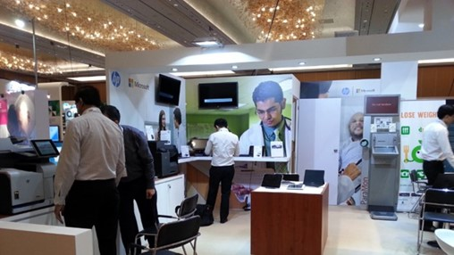 HP ElitePad Healthcare Tablet Steals The Show at HIMSS Asia Pacific