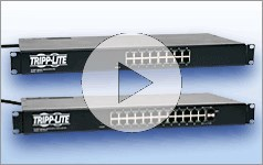 Tripp Lite's Space-Saving PDU Ethernet Switch Combos Provide Power and Ethernet Ports in 1U