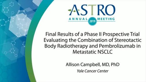 Adding Radiation After Immunotherapy Improves PFS for Some Pts With Metastatic NSCLC