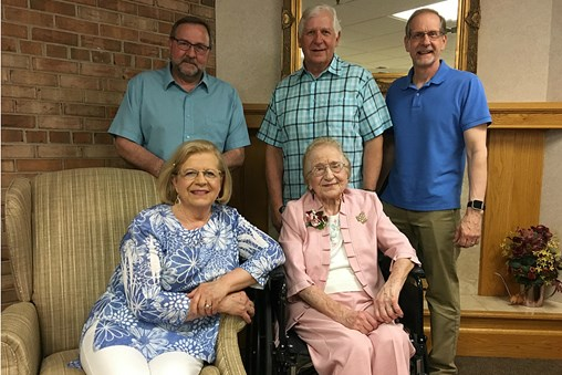 Sauk Rapids Senior Living Community Honors Eight Centenarians