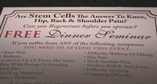 East Bay Clinic's Unapproved Stem Cell Therapy, Marketing Practices Draw Scrutiny
