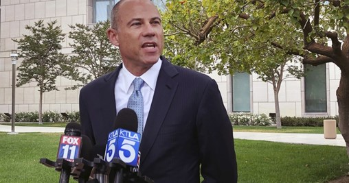 Avenatti Claims He Was Told Trump Is Behind His Indictment