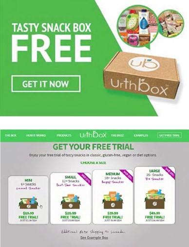 Urthbox free trial