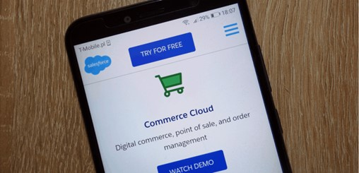 Salesforce Posts Sharp Gains in Commerce and Marketing Software