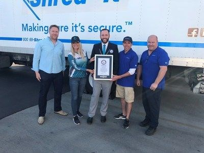 SDCCU Shreds Previous Record at the SDCCU Super Shred Event and Earns Another Guinness World Records™ Title