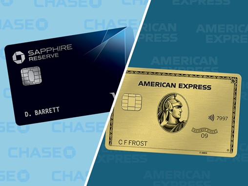 We Compared the Chase Sapphire Reserve and AmEx Gold to Determine the Ultimate Dining Rewards Card