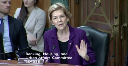 Elizabeth Warren Torches Consumer Protection Head for Not Protecting Consumers