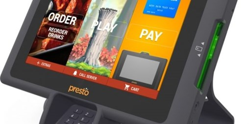 Tabletop POS System Provider E La Carte Changes Its Name to Presto