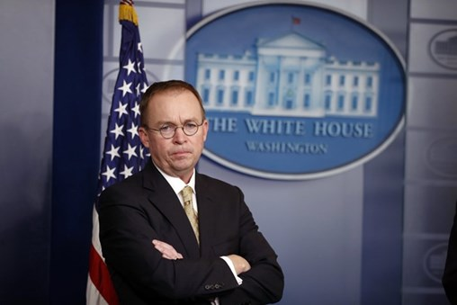 Mick Mulvaney's Favored-Lobbyist Comments Draw Fire