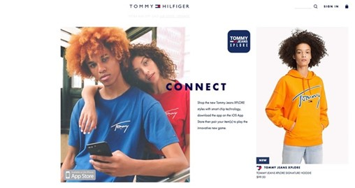 These $100 Tommy Hilfiger Hoodies Come Equipped With Chips That Track How Often You Wear Them and Give You Prizes