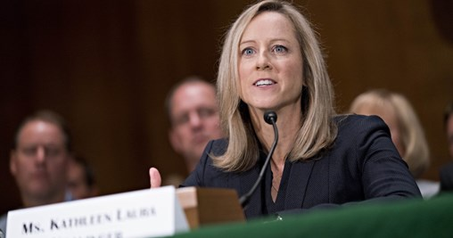 Senate Confirms Trump Budget Aide Kathy Kraninger to Run Consumer Finance Agency, Replacing Mick Mulvaney
