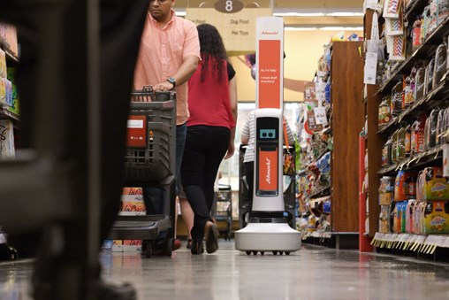 Grocers Enlist Robots to Chase E-Commerce