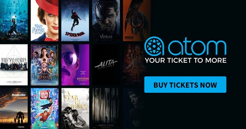 Atom Tickets Introduces New Digital Payment Options for Movie Tickets