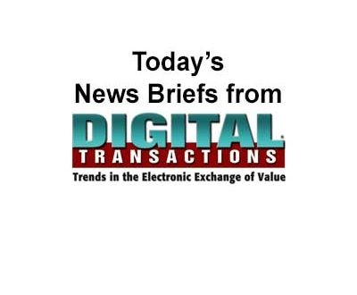 Stock Downturn Ensnares Some Payments Companies and Other Digital Transactions News Briefs From 11/20/18